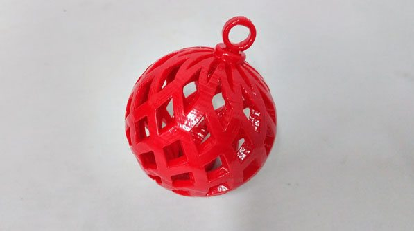 3D printed tree ornament