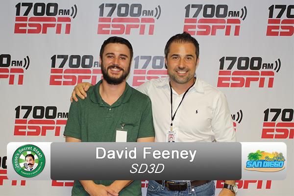 David Feeney SD3D ESPN