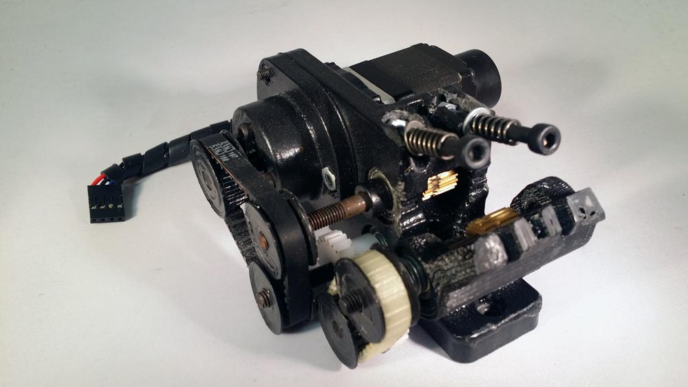 Dual Geared Extruder