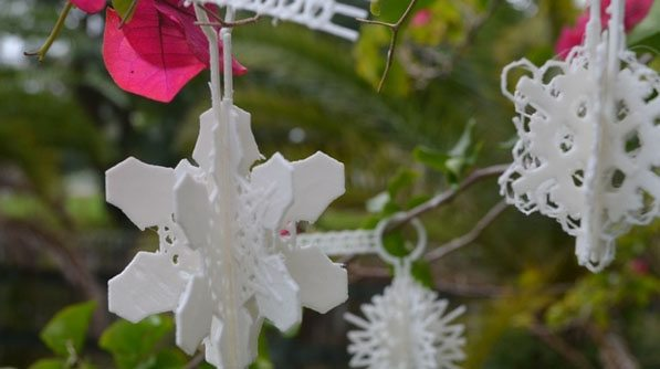 3D Printed Ornaments