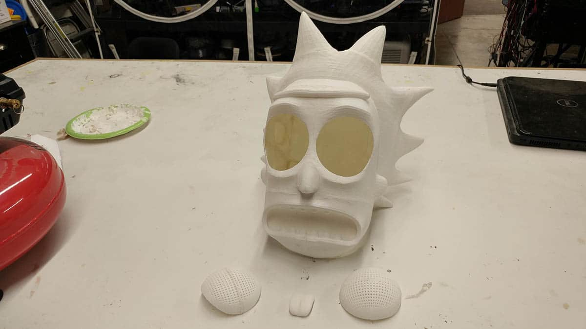 Rick and morty 3d printed
